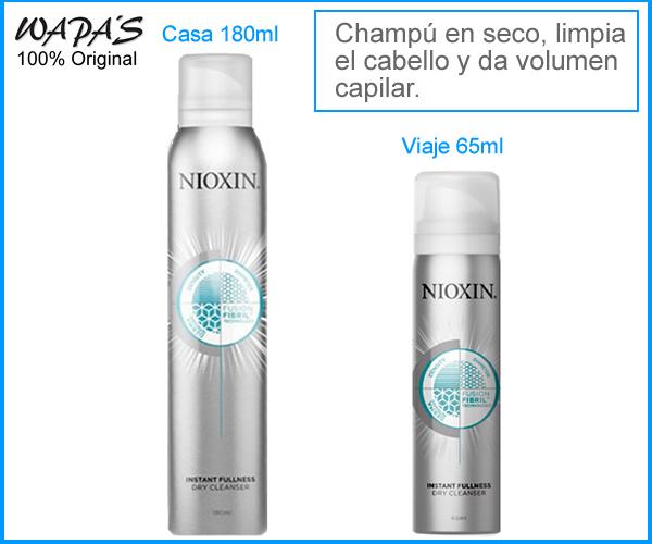 NIOXIN INSTANT FULLNESS Champú en seco