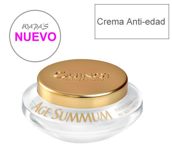 Crema facial antiedad para eliminar las arrugas de la piel envejecida