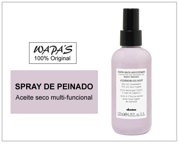 Davines Silkening oil Mist - Your Hair Assistant
