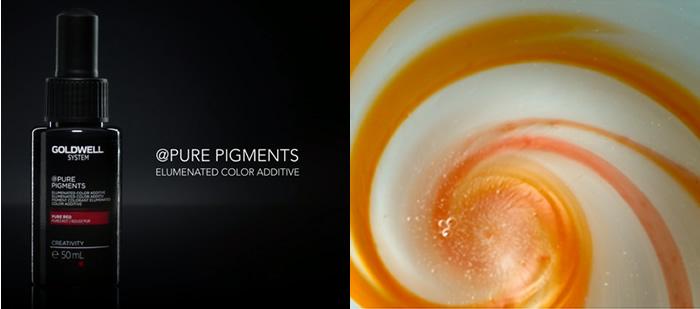 Como se crea Pure Pigments de Goldwell