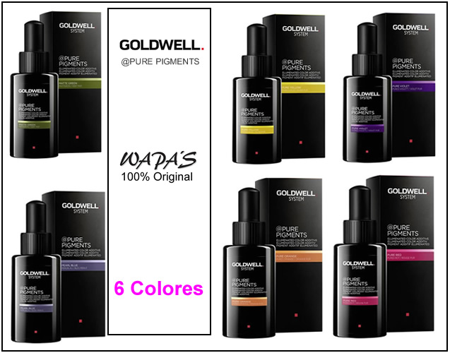 Colores linea Goldwell Pure Pigments