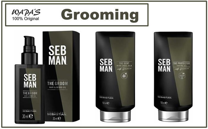 seb man grooming