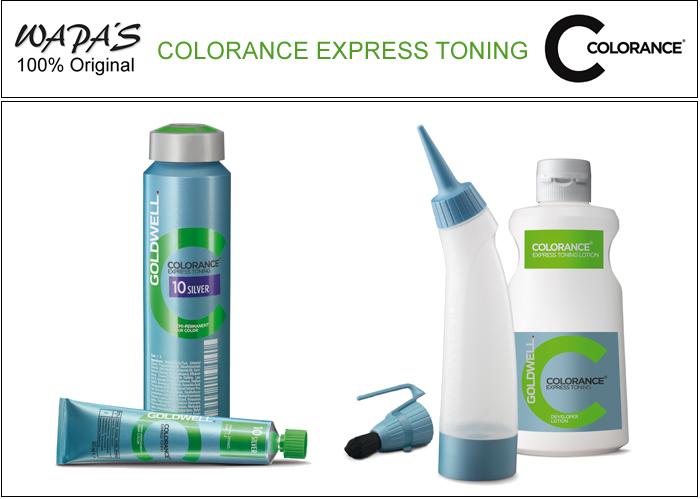 Colorance express toning