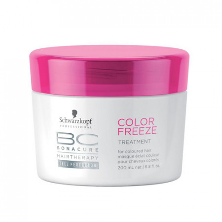 SCHWARZKOPF BC COLOR FREEZE MASCARILLA 200ml reparadora / cabello coloreado