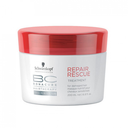 SCHWARZKOPF BC REPAIR MASCARILLA 200ml cabello dañado / normal a fino