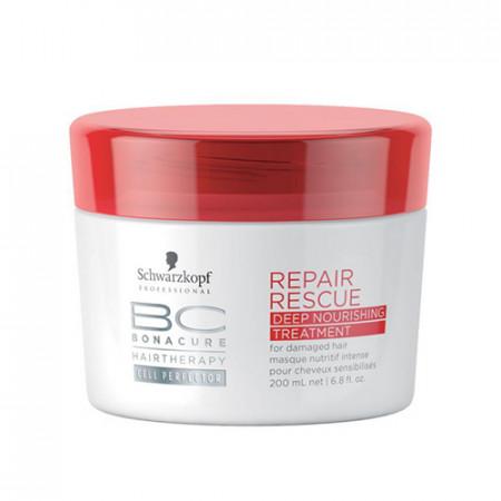 SCHWARZKOPF BC REPAIR MASCARILLA 200ml intensiva / cabello extremadamente dañado