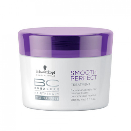 SCHWARZKOPF BC SMOOTH PERFECT MASCARILLA 200ml cabello rebelde / grueso