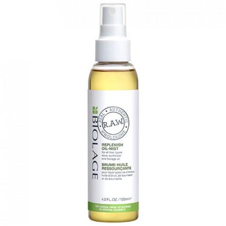 BIOLAGE RAW NOURISH ACEITE REPLENISH OIL MIST 125 ml Todo tipo de cabello