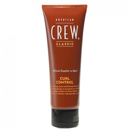 AMERICAN CREW CURL CONTROL CREMA 125ml / rizos - volumen y brillo