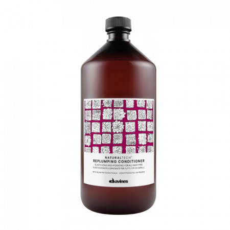 DAVINES NATURAL TECH REPLUMPING ACONDICIONADOR 1000ml desenreda / da elasticidad