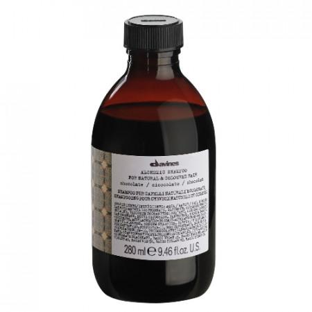 DAVINES ALCHEMIC CHOCOLATE CHAMPU 280ml color marron / negro