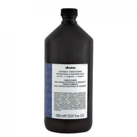 DAVINES ALCHEMIC SILVER ACONDICIONADOR 1000 ml cabello blanco / plata