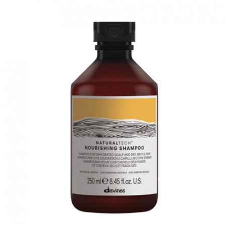 DAVINES NATURAL TECH NOURISHING CHAMPÚ 250ml (cabello seco y dañado)