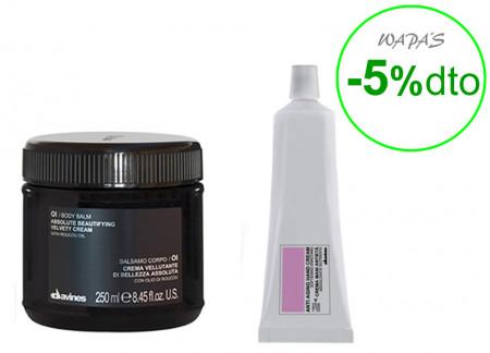 DAVINES OI /  300ml / PACK 21 /  crema de manos anti-edad + crema de piel corporal