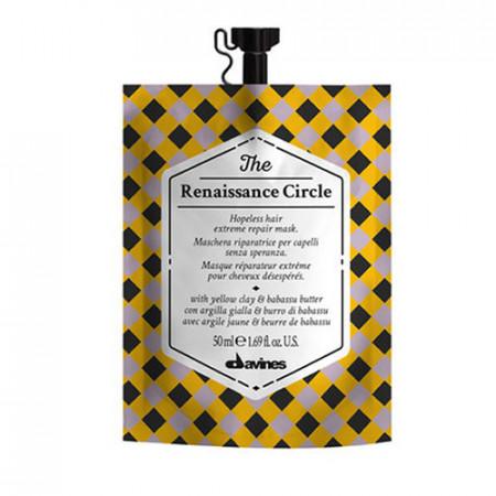 DAVINES THE RENAISSANCE CIRCLE 50ml / Mascarilla capilar reparadora para cabello castigado
