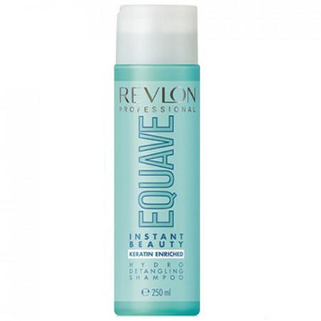 REVLON EQUAVE HYDRO DETANGLING CHAMPU 250ml desenreda todo tipo cabello