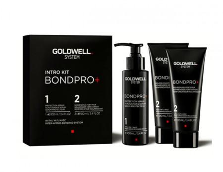 GOLDWELL SYSYTEM BONDPRO INTRO KIT 300ml / Protege y refuerza el cabello durante el servicio de decoloración, coloración o texturización