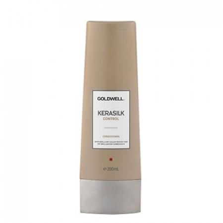 GOLDWELL KERASILK CONTROL ACONDICIONADOR 200ml / alisa, suaviza y controla el cabello
