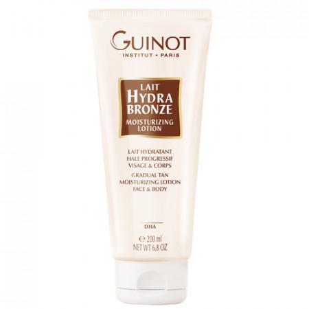 GUINOT LAIT HYDRABRONZE 200ml leche hidratante, tono de bronceado progresivo / rostro / cuerpo