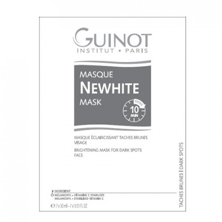 GUINOT NEWHITE MASQUE - MASCARA 7X30ml tratamiento facial - blanqueado instantáneo