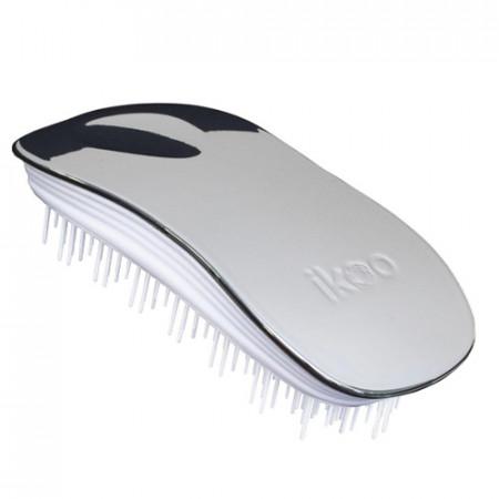 IKOO HOME OYSTER METALLIC - Cepillo para desenredar el pelo (para casa)
