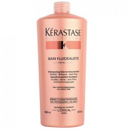 KÉRASTASE DISCIPLINE BAIN FLUIDEALISTE 1000ml / champú cabello encrespado