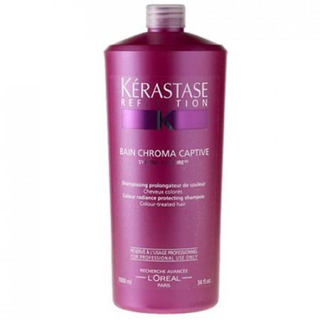 KÉRASTASE RÉFLECTION BAIN CHROMA CAPTIVE 1000ml / champú cabello coloreado