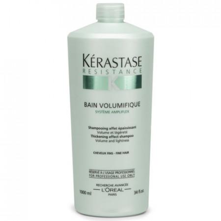 KÉRASTASE RÉSISTANCE VOLUMIFIQUE BAIN 1000ml / champú / cabello fino