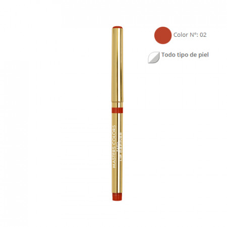 MASTERS COLORS LIP DEFINER Color Nº 02 0,28gr - Lápiz de labios