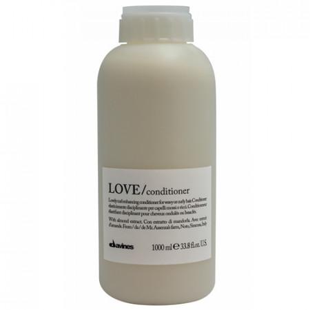 DAVINES ESSENTIAL HAIRCARE LOVE ACONDICIONADOR 1000ml  hidratante / potencia rizo