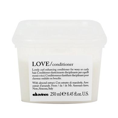 DAVINES ESSENTIAL HAIRCARE LOVE ACONDICIONADOR 250ml hidratante / potencia rizo