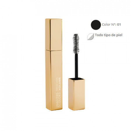 MASTERS COLORS MASCARA VOLUME Color N° 01 7ml - Mascara volumen pestañas