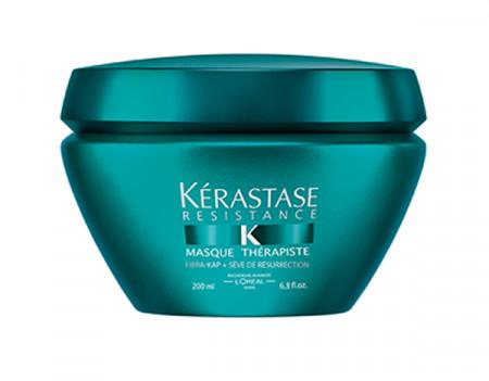KÉRASTASE RÉSISTANCE THÉRAPISTE MASQUE 200ml / mascarilla / cabello dañado / tratado químicamente