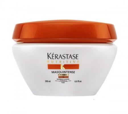 KÉRASTASE NUTRITIVE MASQUINTENSE IRISOME 200ml / mascarilla / nutrición profunda / cabello grueso y seco