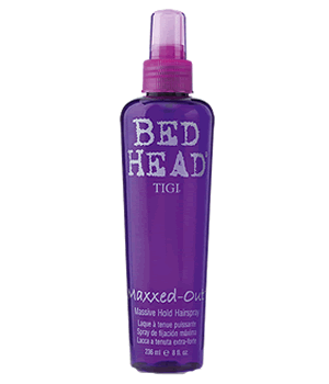 TIGI BED HEAD MAXXED-OUT SPRAY 200ml libre de aerosoles - fijacion maxima