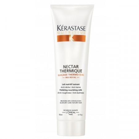 KÉRASTASE NUTRITIVE NECTAR THERMIQUE 150ml / tratamiento sin aclarado / nutrición profunda / cabello muy seco / sensible