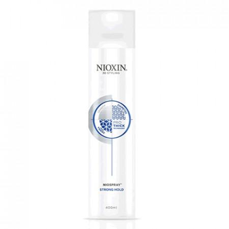 NIOXIN PRO THICK STRONG HOLD NIOSPRAY SPRAY 400ml Peinado cabello normal y encrespado