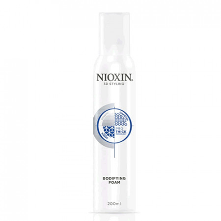 NIOXIN PRO THICK BODYFYING FOAM ESPUMA 200ml Moldeadora y mayor densidad