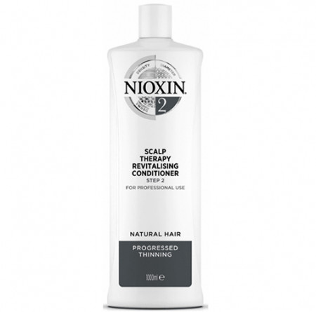 NIOXIN ACONDICIONADOR 2 1000ml cabello natural, fino y con pérdida perceptible