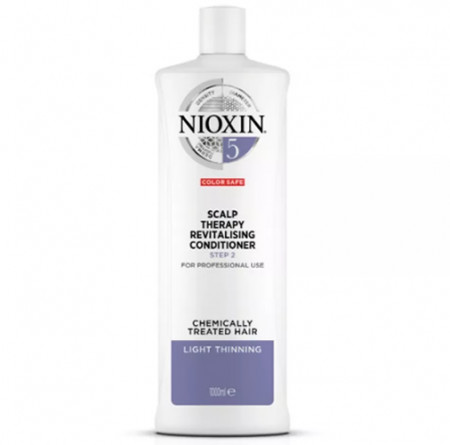 NIOXIN ACONDICIONADOR 5 1000ml cabello coloreado o natural, aspecto normal a grueso