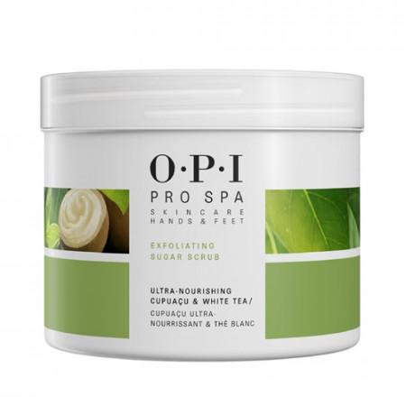 OPI PRO SPA EXFOLIATING SUGAR SCRUB 882g / Exfoliante no irritante / piel más suave y agradable al tacto