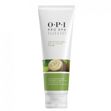 OPI PRO SPA PROTECTIVE HAND NAIL & CUTICLE CREAM 118ml / Crema multiusos manos y pies / hidrata piel / protege cuticula