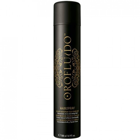 OROFLUIDO STRONG HOLD HAIRSPRAY 500ml / fijación fuerte / brillo