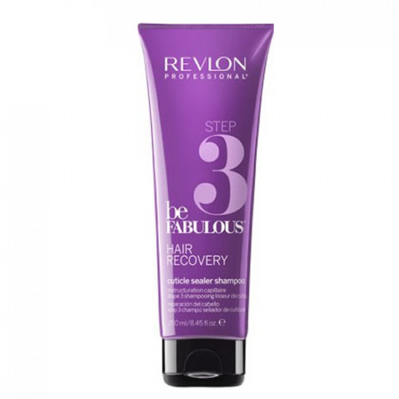 REVLON BE FABULOUS HAIR RECOVERY STEP 3 CHAMPU 250ml (Paso numero 3)