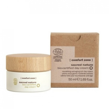 COMFORT ZONE SACRED NATURE BIO-CERTIFIED DAY CREAM 50 ml Crema facial anti-envejecimiento