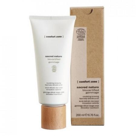 COMFORT ZONE SACRED NATURE BIO-CERTIFIED GOMMAGE 200 ml Exfoliante Facial