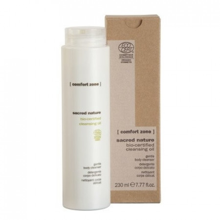 COMFORT ZONE SACRED NATURE CLEANSING OIL BODY 230 ml Limpiador corporal