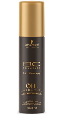 SCHWARZKOPF BC OIL MIRACLE VOLUME AMPLIFIER 5 CREMA 100ml potenciadora volumen