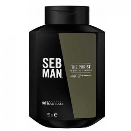SEBASTIAN SEB MAN THE PURIST 250 ml - Champú purificante