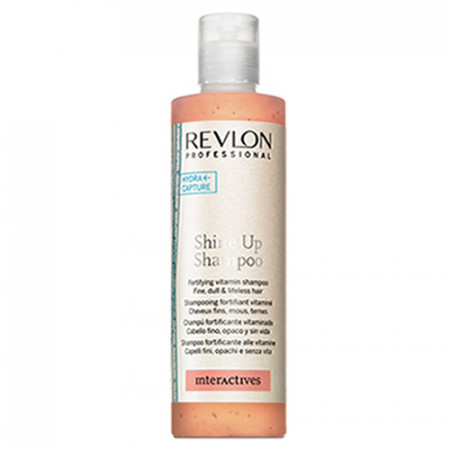 REVLON SHINE UP CHAMPU 250ml fortificante vitaminado / cabello fino